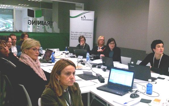 Reunión de lanzamiento del proyecto en Bilbao (España)