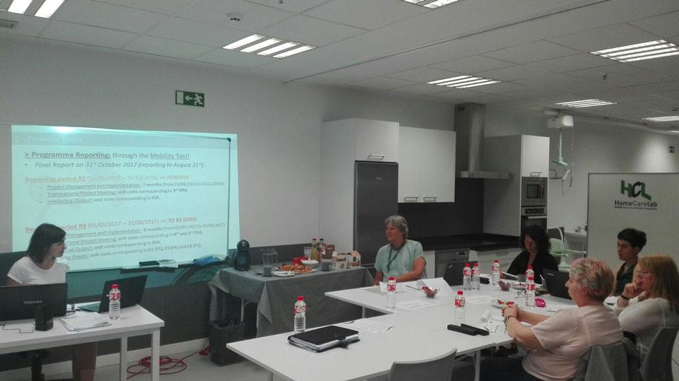 5º Reunión transnacional en Bilbao (España)