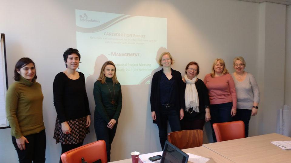 4a riunione transnazionale di progetto a Utrecht (Paesi Bassi)